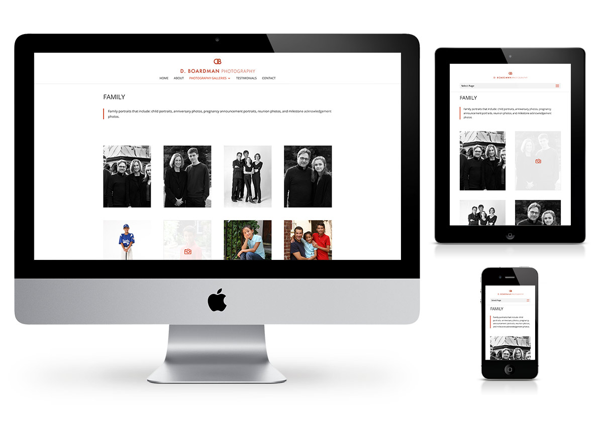 Hudson Valley Photography Website Design