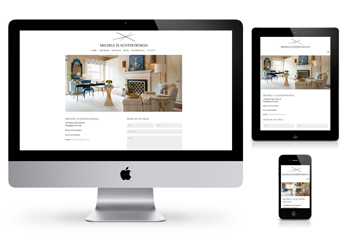 Interior Design Website - Web Design in the Hudson Valley