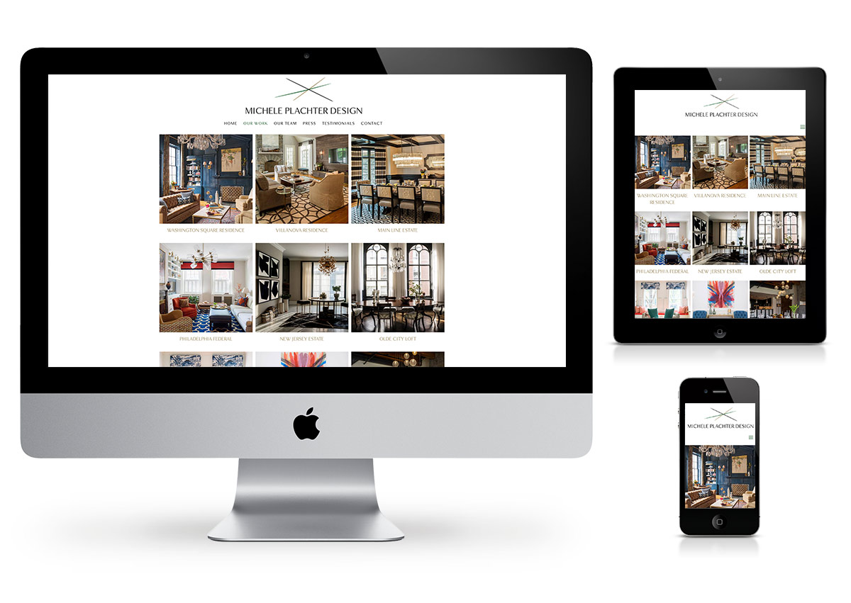 Web Design in Hudson Valley - Interior Design Website